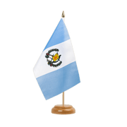 "Guatemala - Table Flag 6x9"", wooden"