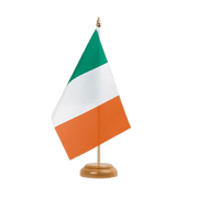 "Ireland Table Flag - 6x9"", wooden"