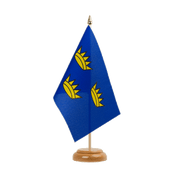 "Munster - Table Flag 6x9"", wooden"