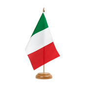 "Italy - Table Flag 6x9"", wooden"