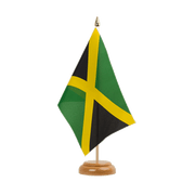 "Jamaica - Table Flag 6x9"", wooden"