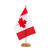 "Canada - Table Flag 6x9"", wooden"