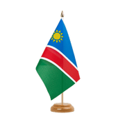 "Namibia - Table Flag 6x9"", wooden"