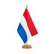 "Netherlands - Table Flag 6x9"", wooden"