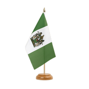 "Rhodesia Table Flag - 6x9"", wooden"