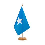 "Somalia - Table Flag 6x9"", wooden"
