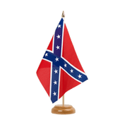 "USA Southern United States - Table Flag 6x9"", wooden"
