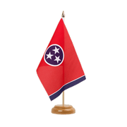 "Tennessee - Table Flag 6x9"", wooden"