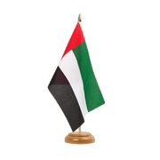 "Table Flag United Arab Emirates - 6x9"", wooden"