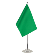 Green - Satin Table Flag 6x9""