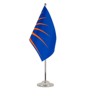 Drapeau de table prestige Sunburst - 15 x 22 cm