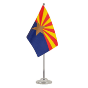 Satin Arizona Table Flag - 6x9""