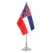 Drapeau de table prestige Mississippi - 15 x 22 cm