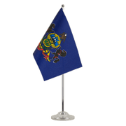Drapeau de table prestige Pennsylvania - 15 x 22 cm
