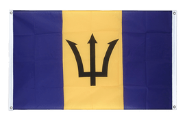 Barbados - Banner Flag 3x5 ft, landscape
