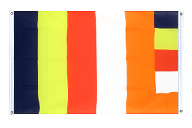 Buddhist - Banner Flag 3x5 ft, landscape