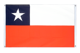 Chile - Banner Flag 3x5 ft, landscape