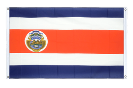 Costa Rica - Banner Flag 3x5 ft, landscape