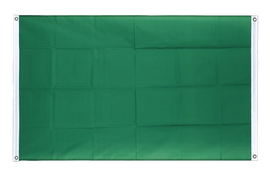 Green - Banner Flag 3x5 ft, landscape