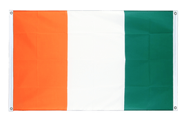 Ivory Coast - Banner Flag 3x5 ft, landscape