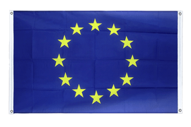 European Union EU - Banner Flag 3x5 ft, landscape
