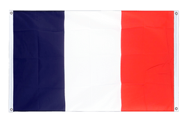 France - Banner Flag 3x5 ft, landscape