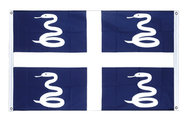 Martinique - Banner Flag 3x5 ft, landscape