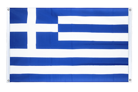 Greece Grommet Banner Flag - 3x5 ft, landscape
