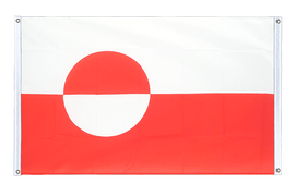 Greenland - Banner Flag 3x5 ft, landscape