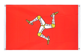 Isle of man - Banner Flag 3x5 ft, landscape