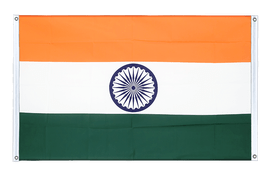 India - Banner Flag 3x5 ft, landscape