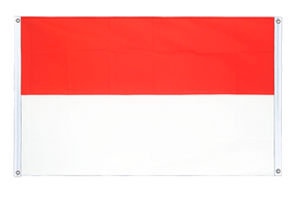 Indonesia - Banner Flag 3x5 ft, landscape