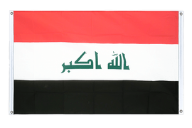 Iraq 2009 - Banner Flag 3x5 ft, landscape