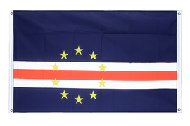 Cape Verde - Banner Flag 3x5 ft, landscape