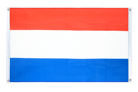 Banner Flag Luxembourg - 3x5 ft, landscape