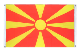 Macedonia - Banner Flag 3x5 ft, landscape
