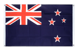 New Zealand - Banner Flag 3x5 ft, landscape