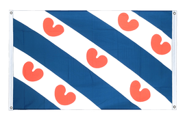 Friesland - Banner Flag 3x5 ft, landscape