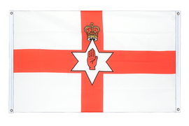 Northern Ireland - Banner Flag 3x5 ft, landscape