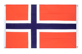 Norway - Banner Flag 3x5 ft, landscape