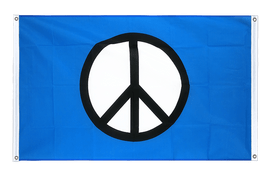 Peace CND - Banner Flag 3x5 ft, landscape