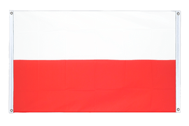 Poland - Banner Flag 3x5 ft, landscape