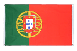Portugal - Banner Flag 3x5 ft, landscape