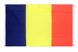Rumania - Banner Flag 3x5 ft, landscape