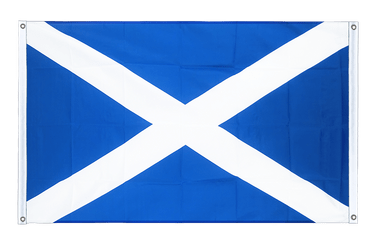 Scotland Banner Flag 3x5 ft, landscape