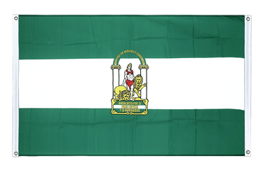 Andalusia Banner Flag 3x5 ft, landscape