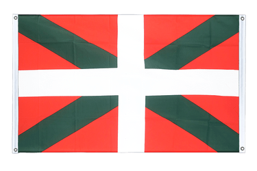 Basque country Banner Flag 3x5 ft, landscape