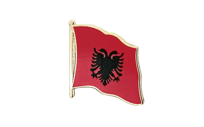 Albania Flag Lapel Pin