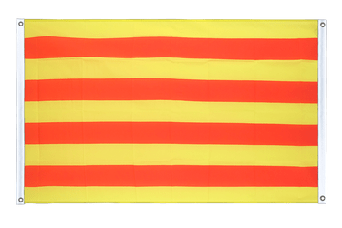 Catalonia Banner Flag 3x5 ft, landscape