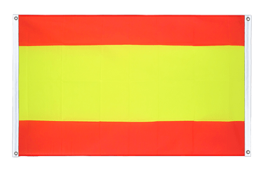 Spain without crest - Banner Flag 3x5 ft, landscape